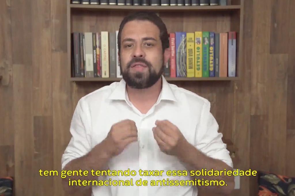 Federação Palestina condena uso imoral do 'antissemitismo' para prejudicar Boulos: Fake news covarde!