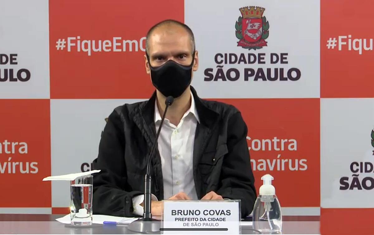 Covid-19: Cresce a ocupação dos leitos de UTI na cidade de São Paulo e Covas diz que não vai fazer nada