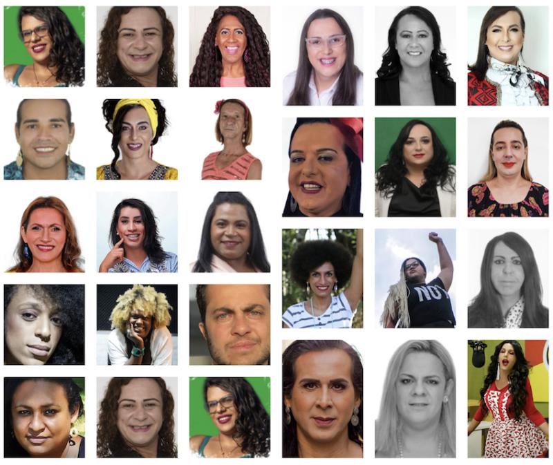 25 candidaturas trans vencem em todo o Brasil, 7 como as mais votadas