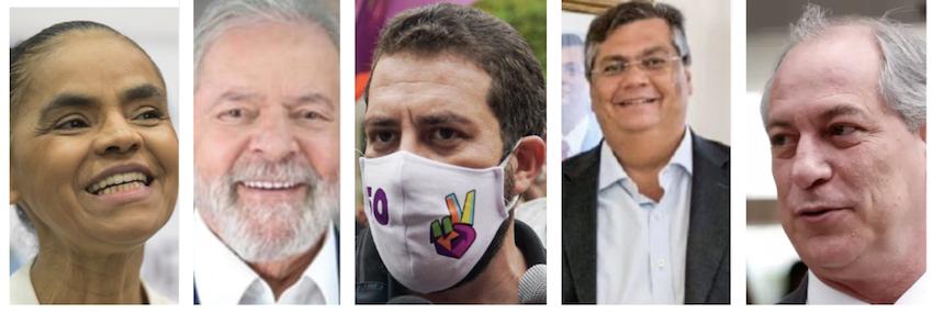 A 12 pontos de Covas no Ibope, Boulos quer apresentar frente com Lula, Ciro, Marina e Dino