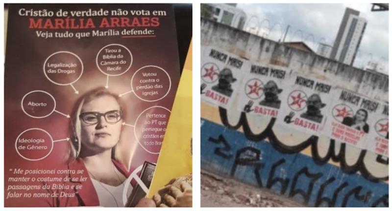 Rogério Tomaz Jr.: Adversários fazem campanha sórdida contra Marília, usando Lula quatro dedos e acusando PT de perseguir cristãos