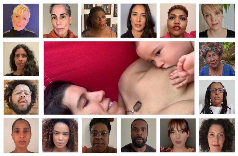 Em apoio a Patrícia, artistas, lideranças dos movimentos negro e indígena e ativistas participam de vídeo: Devolvam Sama para a sua mãe!
