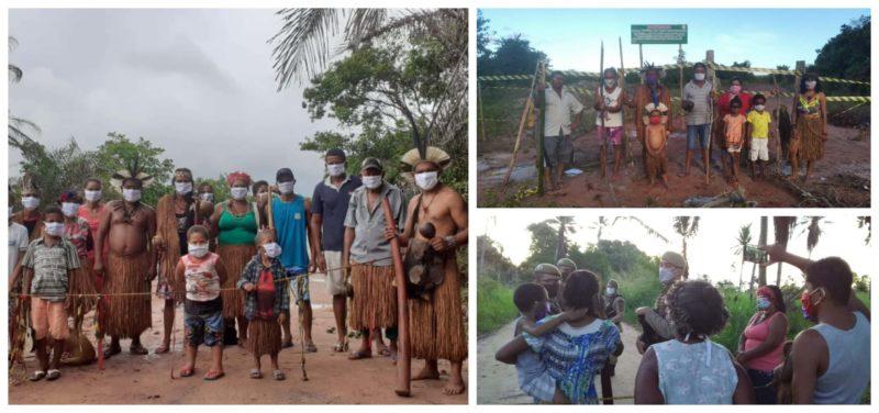 Cimi denuncia: Funai apropria-se de barreiras sanitárias de indígenas para esconder do STF que nada fez contra covid nas aldeias