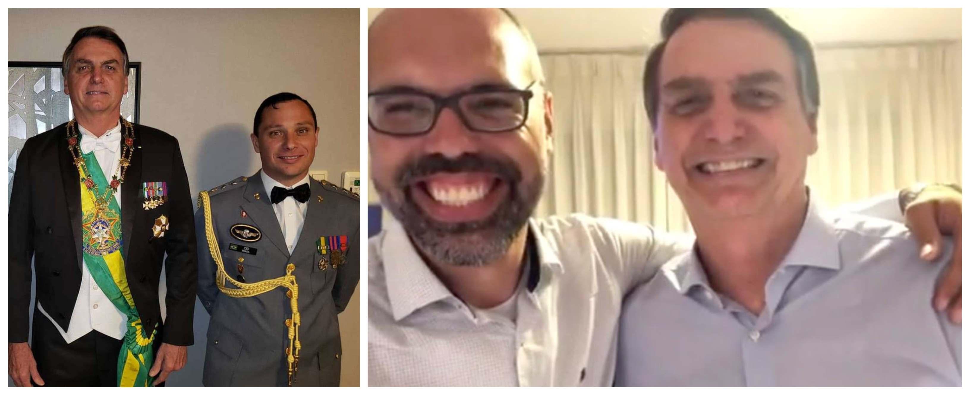 Coronel assessor de Bolsonaro diz à PF ser 'leva e traz' do blogueiro do ódio Allan dos Santos ao presidente