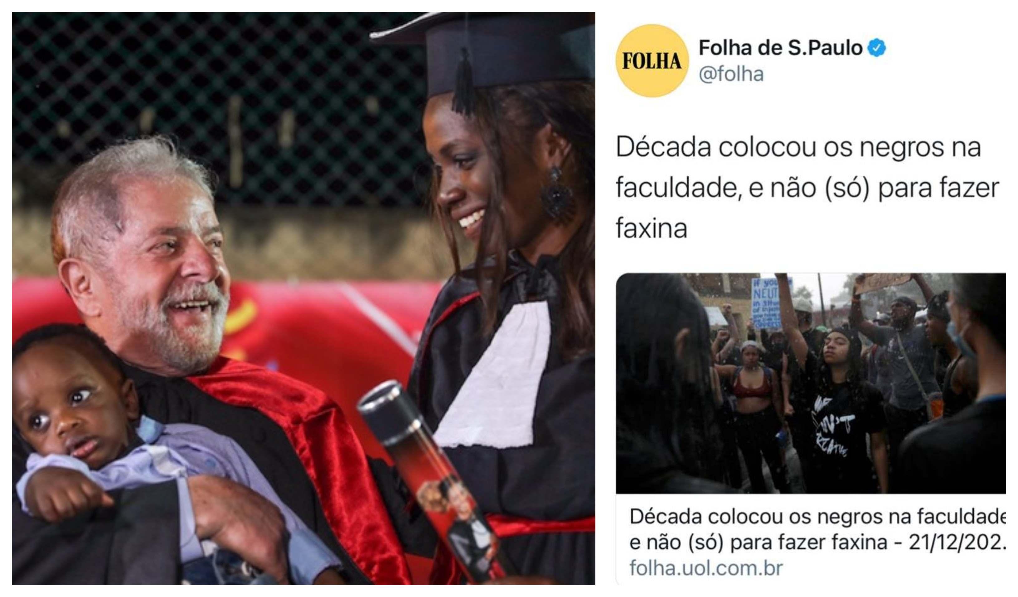 """Eliara Santana: Para esconder ações de Lula e Dilma, Folha """"inventa"""" sujeito"""