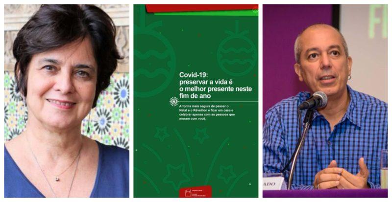 Nísia Trindade e Carlos Machado: Neste Natal e révellion, o mais seguro é celebrar apenas com as pessoas que moram você