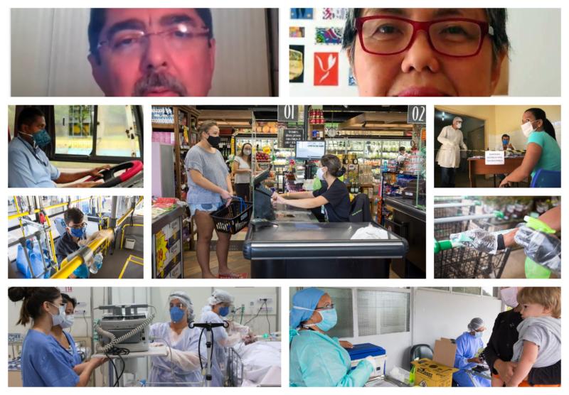 Covid: Medidas de saúde recomendadas por especialistas para reduzir risco de infecção nos locais de trabalho