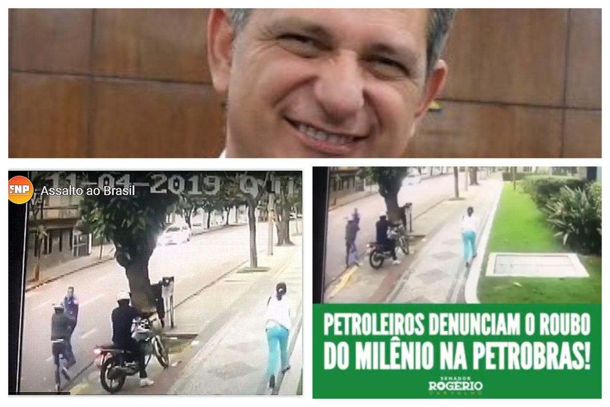 Senador publica vídeo da Federação Nacional dos Petroleiros como se fosse o autor; compare as versões