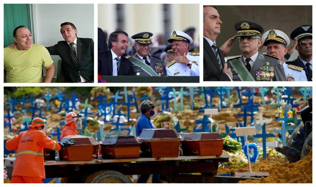 Miola: É urgente julgar Pazuello e Bolsonaro por genocídio; morticínio arruína imagem das Forças Armadas