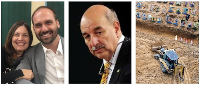 Como Osmar Terra, Bia Kicis e Eduardo Bolsonaro colaboraram com o caos em Manaus