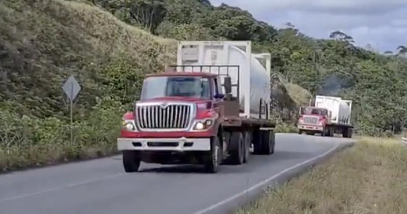 100 mil metros cúbicos de oxigênio chegam esta noite a Manaus vindos da Venezuela; vídeo