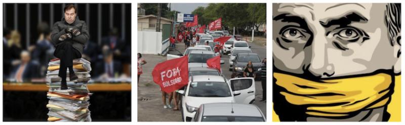 Brasileiros vão às ruas contra Bolsonaro e frustração com falta de vacina pode virar o barco