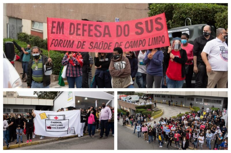 Juliana Cardoso: Em pleno avanço da pandemia, Covas demite profissionais de saúde em 4 hospitais de SP