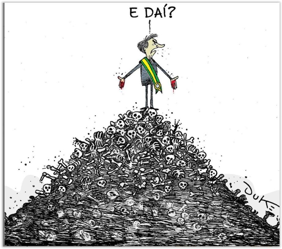 Marcelo Zero: Impeachment não basta a Bolsonaro; ele merece Haia pelo extermínio de  milhares de vidas