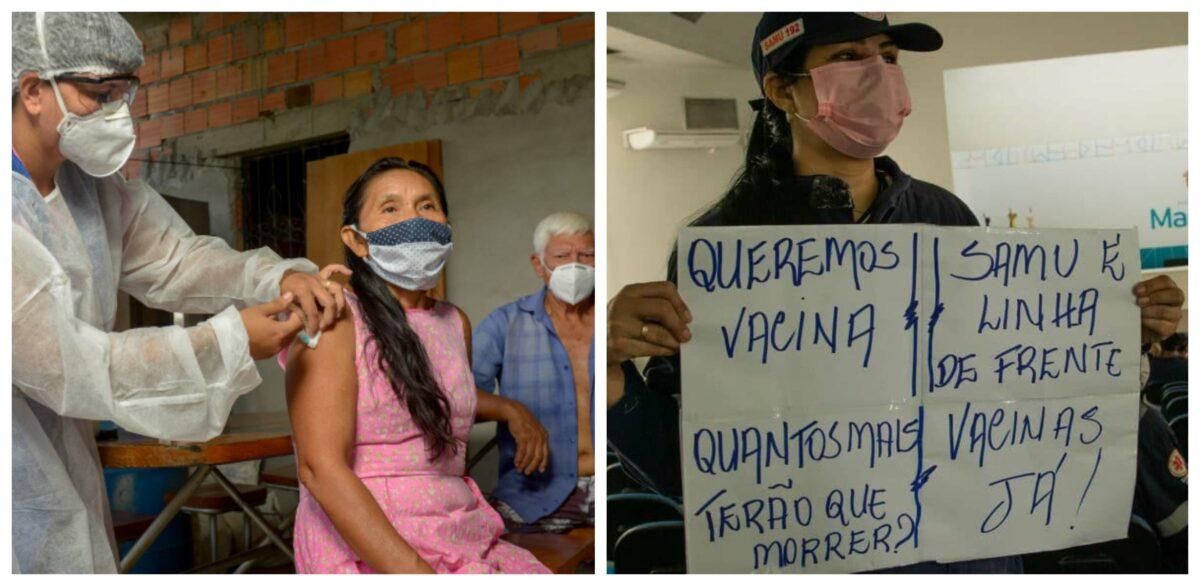 CNS e entidades rechaçam 'fura-fila' da vacina: Qualquer dose fora da ordem de prioridades será crime!; vídeo