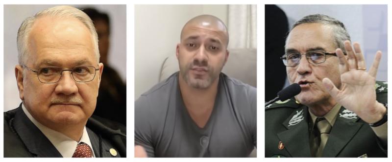 Em vídeo que levou à prisão de deputado, Silveira chamou Fachin de mau caráter, marginal da lei, filho da puta e disse que imaginou surra em ministro