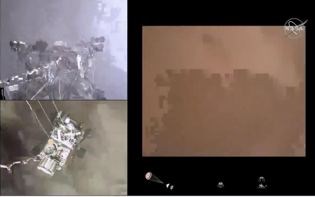 O sensacional pouso da Perseverance em Marte; vídeo