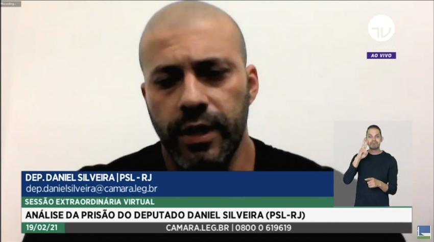 Bolsonarismo do ódio perde na Câmara, que mantém Daniel Silveira preso por 364 a 130 votos
