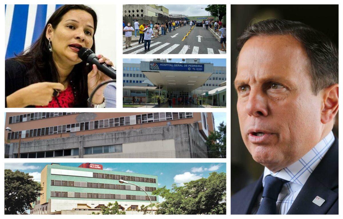Juliana Cardoso: Doria fecha portas de prontos socorros de hospitais na capital; tragédia anunciada