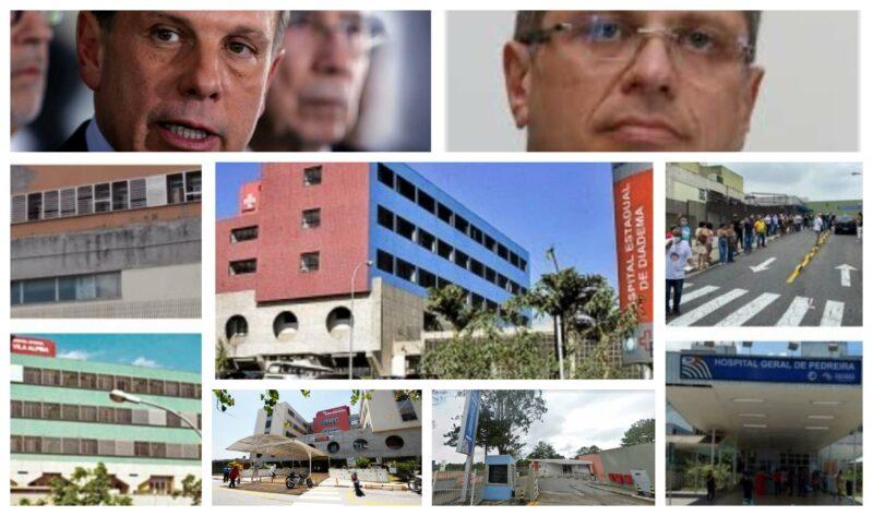 Doria corta R$ 689 milhões da Saúde, fecha serviços de excelência e provoca desassistência na periferia e ABC Paulista