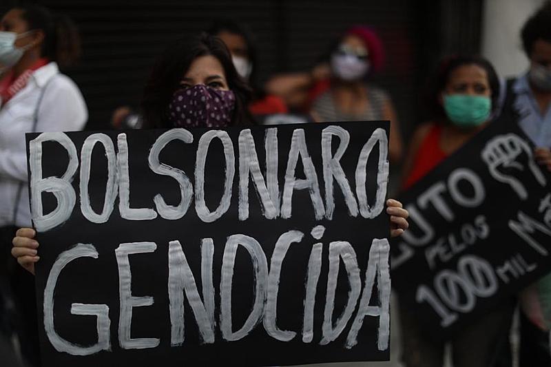 Nota da Oposição: Diante dos mais de 300 mil brasileiros mortos pela covid, Bolsonaro ocupa-se em articular seus delírios autoritários