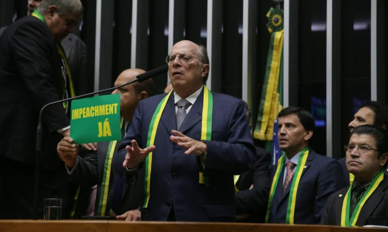 Maria Lúcia Cacciola:  Jurista tucano parece que se esqueceu do seu papel no impeachment de Dilma