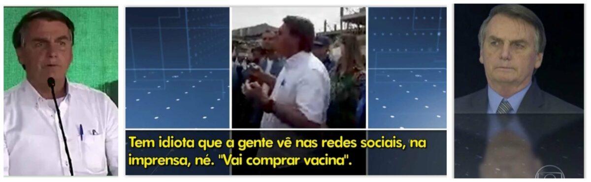 Eliara Santana: JN coloca em Bolsonaro o carimbo de culpado pela tragédia da Covid no Brasil