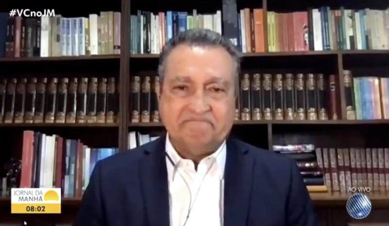 A emoção do governador Rui Costa ao falar do colapso sanitário na Bahia; vídeo