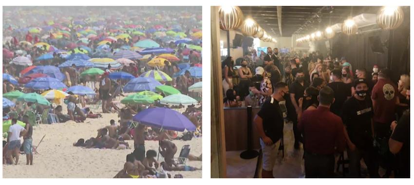 Apesar da chantagem de Bolsonaro, secretários de saúde defendem fechamento de bares e praias em todo o território nacional; íntegra