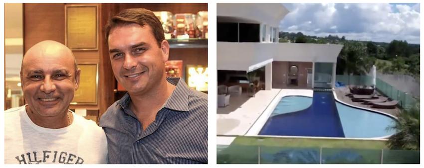 Flávio Bolsonaro compra mansão milionária com juros camaradas de banco público de Brasília; vídeo