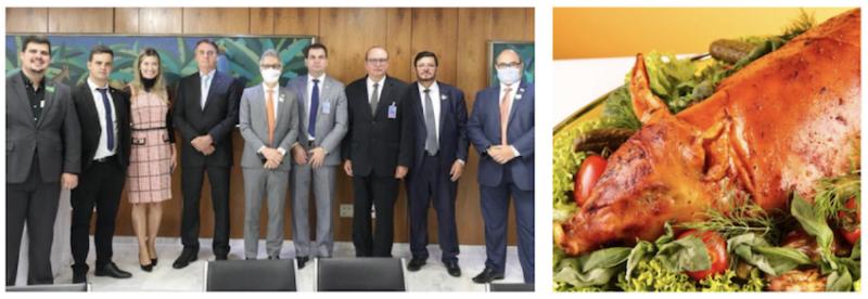 Enquanto Bolsonaro comia leitão à pururuca em atmosfera festiva, um brasileiro morria por minuto de covid