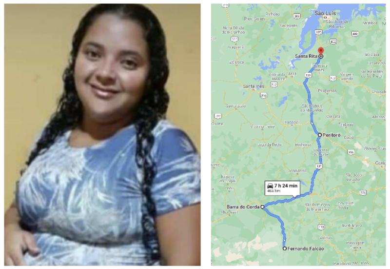 Depois de buscar socorro viajando grávida por 500 km, Neurivânia, 29, e seu bebê morrem dentro da ambulância
