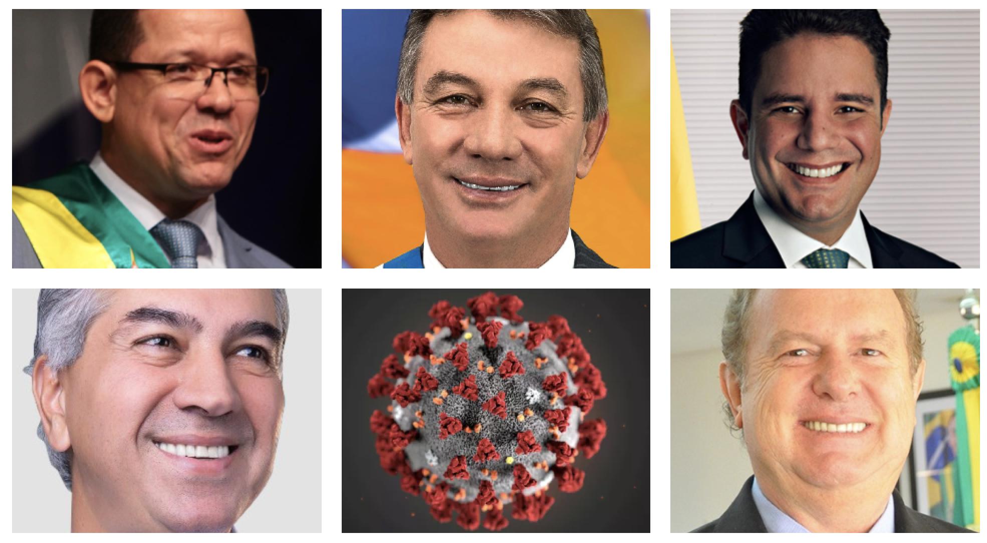 22 governadores driblam Bolsonaro e assumem ação nacional para enfrentar a pandemia; veja quem não aderiu
