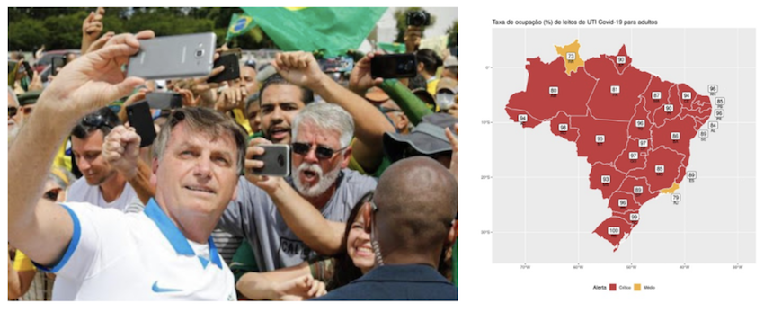 """Fiocruz declara """"o maior colapso sanitário e hospitalar da História do Brasil""""; veja gráficos e vídeo"""