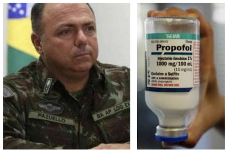 Hospitais privados dizem que só tem anestésico para 4 dias, expondo outra vez desastre logístico do general ministro