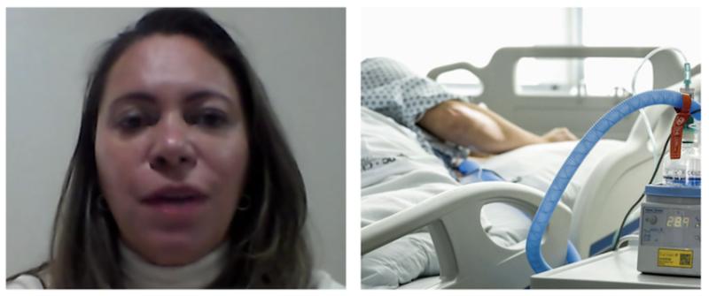 """Caos na linha de frente: Enfermeira conta que a mídia está sendo benevolente em relação à pandemia: """"É muito pior!"""""""