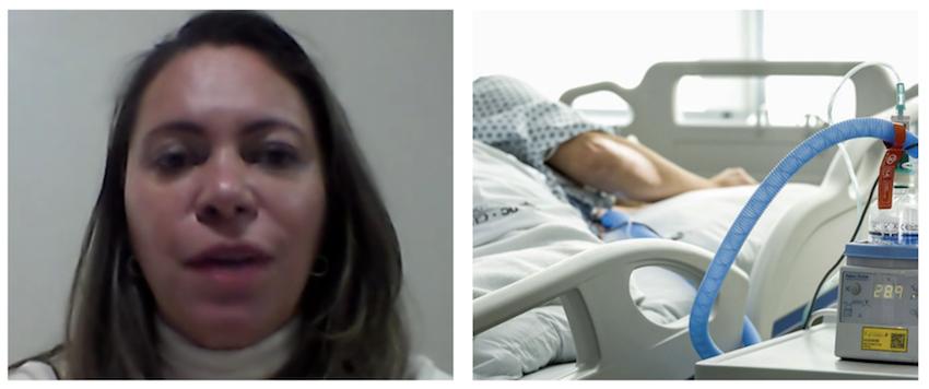 Enfermeira Andrea conta os segredos da linha de frente