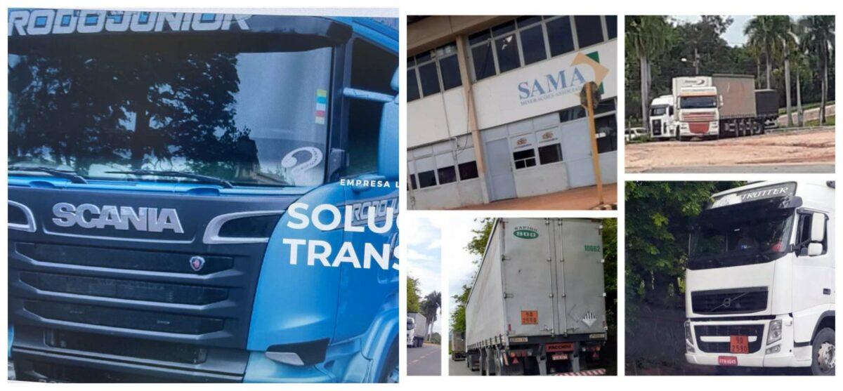 Abrea denuncia: Sama afronta de novo o STF, tenta exportar 340 toneladas de amianto; 10 carretas chegam ao porto de Santos, em SP, nesta tarde