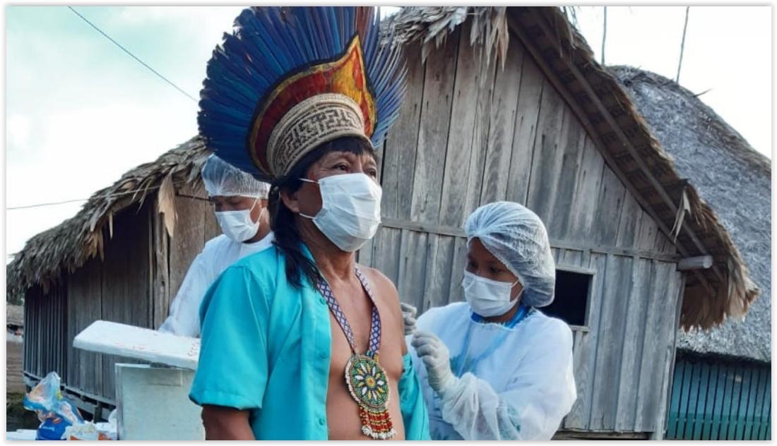 Covid-19: Vacinação de povos indígenas da Amazônia está com índices muito baixos