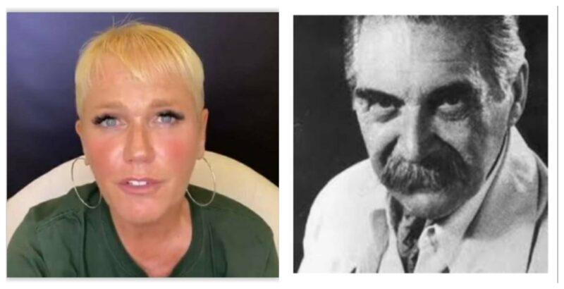 """Carta aberta de Julian Rodrigues a Xuxa: """"Mandando a real, a sua fala foi nazista. Que decepção, quanto lixo a senhora falou!"""""""