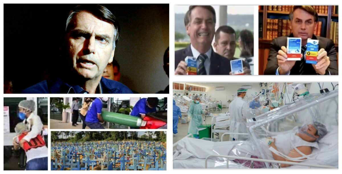 Eliara Santana: Com Bolsonaro genocida, Brasil não tem pandemia. Tem morticínio