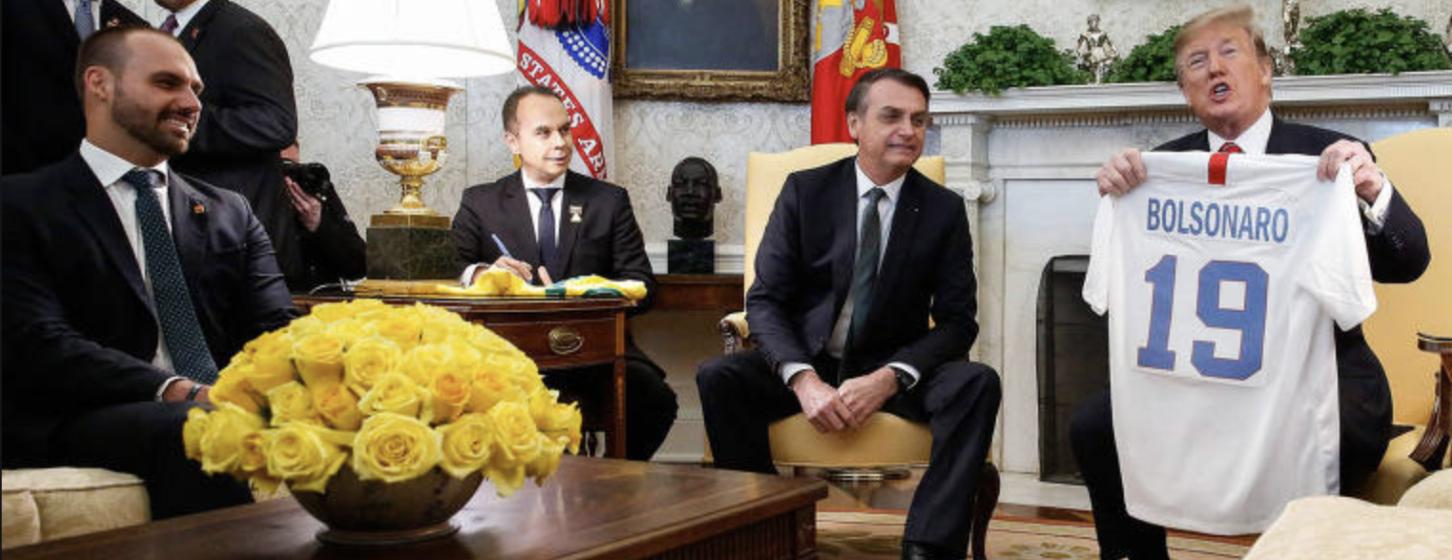 Brian Winter: Bolsonaro prepara a sua própria invasão do Capitólio