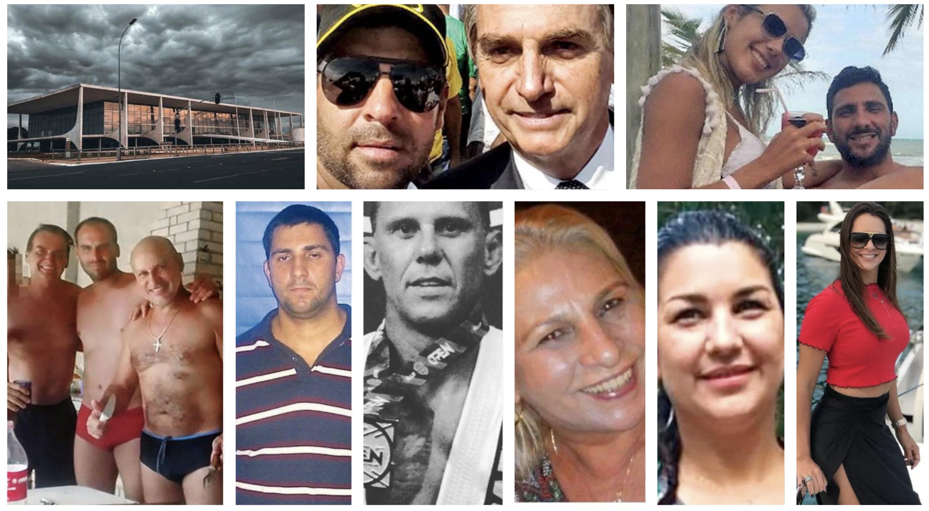 Queimas de arquivo rondam a casa de vidro. Adriano e Orelha, homenageados pelo clã Bolsonaro, estão mortos. O rastro do dinheiro vai falar?