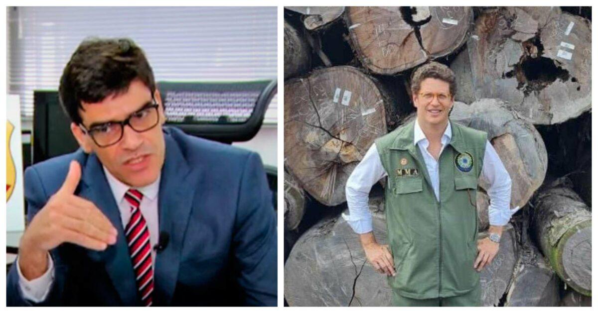 Delegado da PF que denunciou Salles expõe documentos que demonstram fraude na exportação de madeira; vídeo