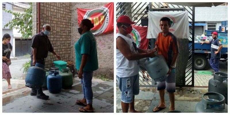 Nesta quinta, Central de Movimentos Populares e FUP venderão botijão de gás a cerca de R$ 40