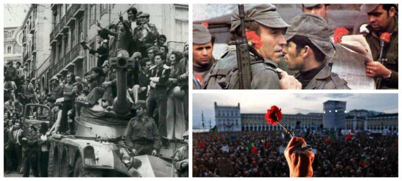 Julian Rodrigues: Revolução dos Cravos faz 47 anos; sobrou cheirinho de alecrim na terra da fraternidade; vídeos para celebrar