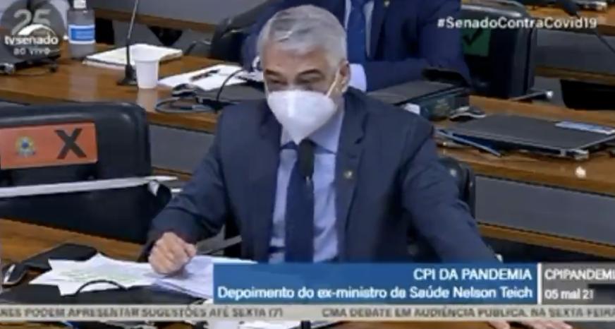 Humberto Costa: Fala de Teich mostra que Bolsonaro entregou brasileiros ao negacionismo; veja