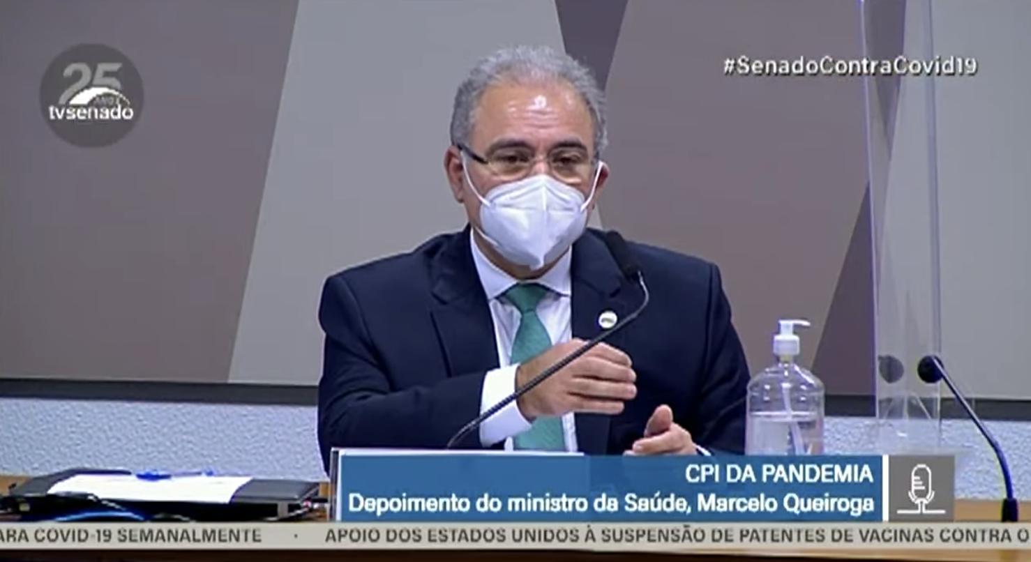 """Para Kennedy Alencar, """"carreirismo"""" explica cumplicidade de ministro Queiroga com genocida; vídeo"""