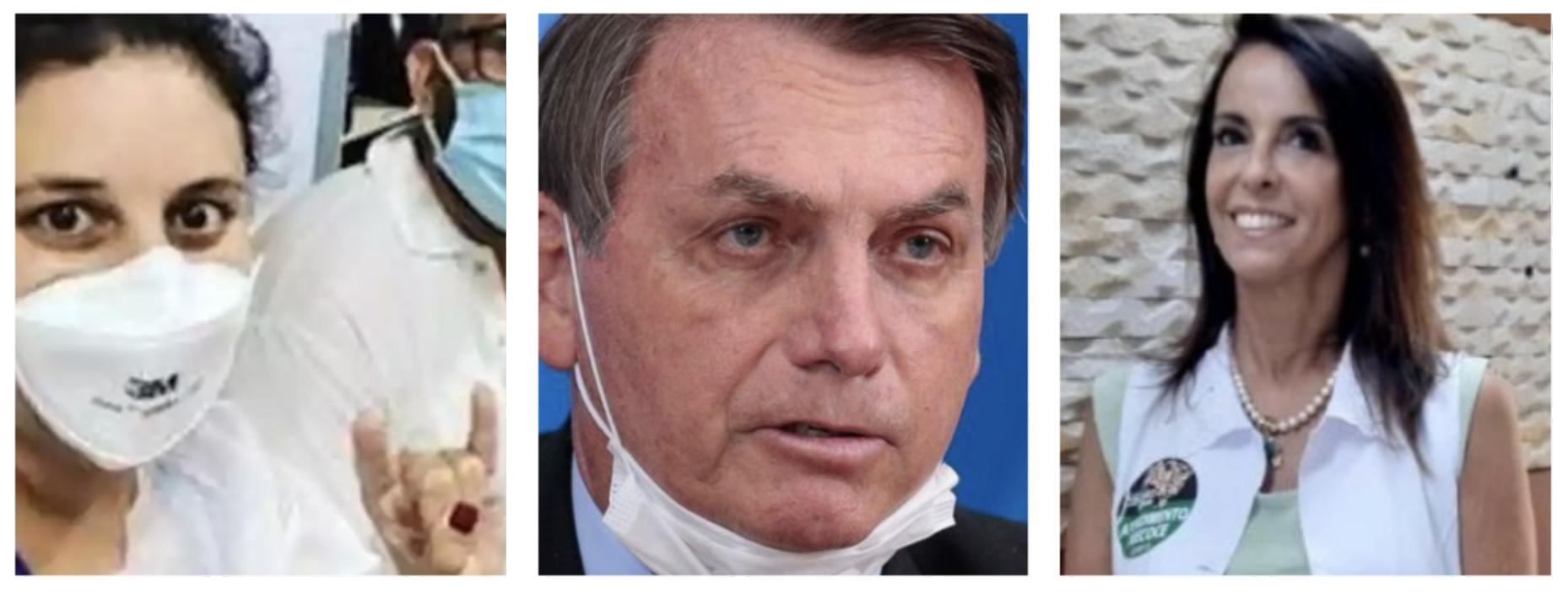 Internauta expõe apoio de Bolsonaro a nebulização com cloroquina, suspeita de matar oito pessoas — e pede que Randolfe leve assunto à CPI