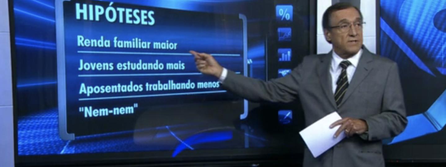 Sardenberg consegue falar em pesquisa do Datafolha sem mencionar o nome de Lula, nem o resultado; veja
